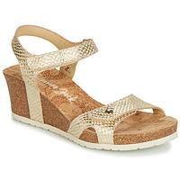 Sapatos Mulher Sandálias Panama Jack JULIA Dourado