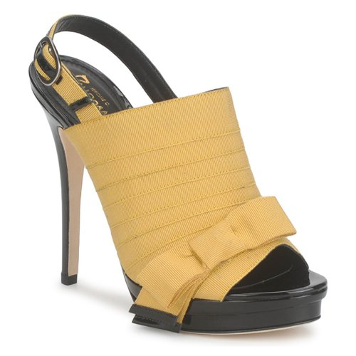 Sapatos Mulher Sandálias Jerome C. Rousseau ROXY Amarelo / Preto