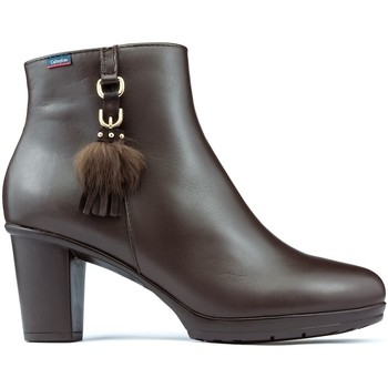 Sapatos Mulher Botins CallagHan Botas  SIERRA ANTIC DANA CASTANHO