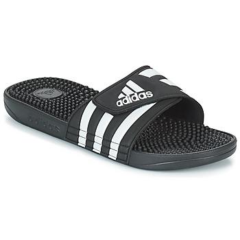 Sapatos chinelos adidas Originals ADISSAGE Preto / Branco