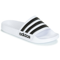 Sapatos chinelos adidas Performance ADILETTE SHOWER Branco / Preto