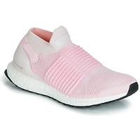 Sapatos Mulher Sapatilhas de corrida adidas Performance ULTRABOOST LACELESS Rosa