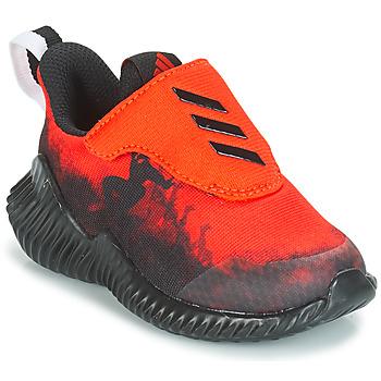 Sapatos Rapaz Sapatilhas de corrida adidas Performance FORTARUN SPIDER-MAN Vermelho / Preto