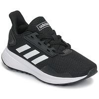 Sapatos Criança Sapatilhas de corrida adidas Originals DURAMO 9 K Preto / Branco