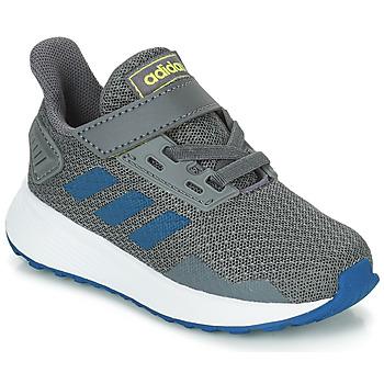 bfa68c56367b7 Sapatos Rapaz Sapatilhas de corrida adidas Performance DURAMO 9 I Cinza