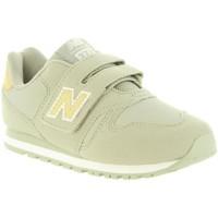 Sapatos Criança Sapatilhas New Balance KV373GUY Beige