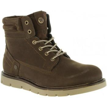 Sapatos Homem Botas baixas Wrangler WM182010 TUCSON Marr?n