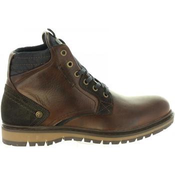 Sapatos Homem Botas baixas Wrangler WM182030 MIWOUK Marr?n