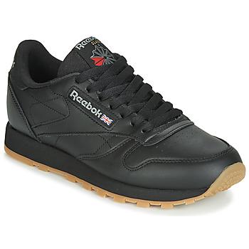 Sapatos Sapatilhas Reebok Classic CL LTHR Preto