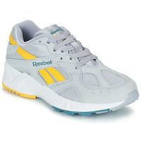 Sapatos Homem Sapatilhas Reebok Classic AZTREK Cinza / Amarelo