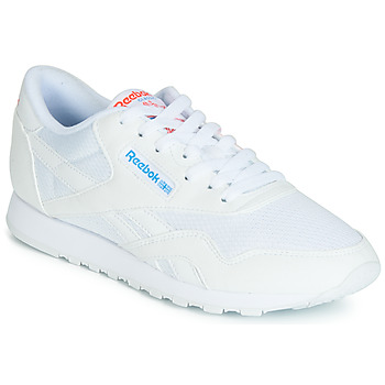 Sapatos Mulher Sapatilhas Reebok Classic CL NYLON TXT Bege