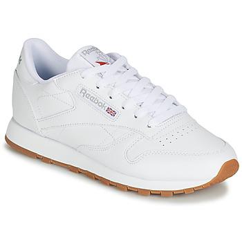 Sapatos Mulher Sapatilhas Reebok Classic CL LTHR Branco