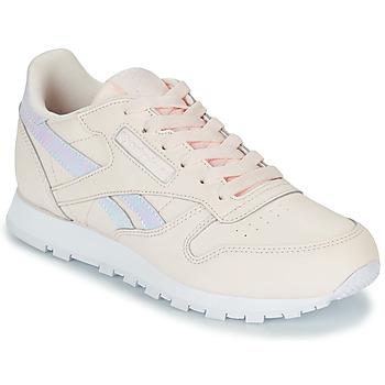 Sapatos Rapariga Sapatilhas Reebok Classic CLASSIC LEATHER Rosa