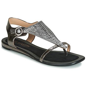 Sapatos Mulher Sandálias JB Martin ARMOR Preto / Prata