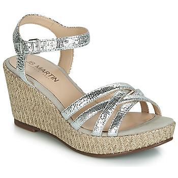 9aaff40d20 Sapatos Mulher Sandálias JB Martin DAME Prata