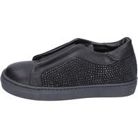 Sapatos Rapariga Slip on Holalà Sneakers BT374 Preto