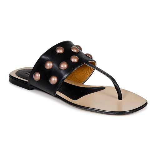 Sapatos Mulher Chinelos Keyté DELLIA Preto