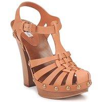 Sapatos Mulher Sandálias Marc Jacobs MJ18051 Bege