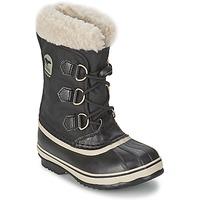 Sapatos Criança Botas de neve Sorel YOOT PAC NYLON Preto