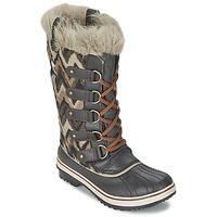 Sapatos Mulher Botas de neve Sorel TOFINO Cinza