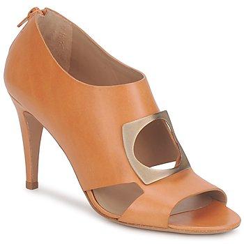 Sapatos Mulher Botas baixas Kallisté FLORA Camel