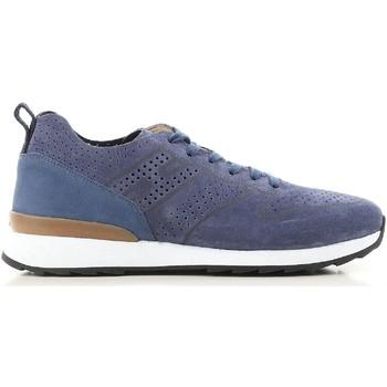 Sapatos Homem Sapatilhas Hogan HXM2610K200IHHU803 blu
