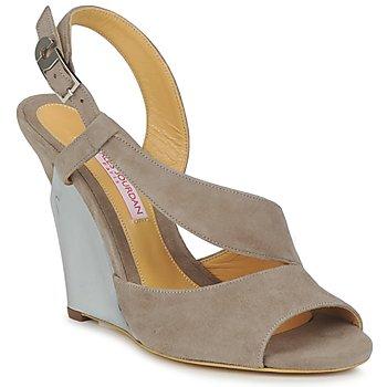 Sapatos Mulher Sandálias Charles Jourdan PALOMA Castanho