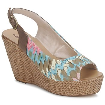 Sapatos Mulher Sandálias Sans Interdit RICO Multicolor