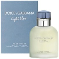 beleza Homem Eau de toilette  D&G light blue homme - colônia - 200ml - vaporizador light blue homme - cologne - 200ml - spray