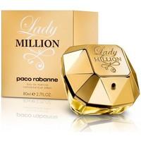 beleza Mulher Eau de parfum  Paco Rabanne Lady Million - perfume  - 80ml - vaporizador Lady Million - perfume  - 80ml - spray