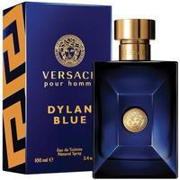beleza Homem Eau de toilette  Versace dylan blue - colônia - 100ml - vaporizador dylan blue - cologne - 100ml - spray