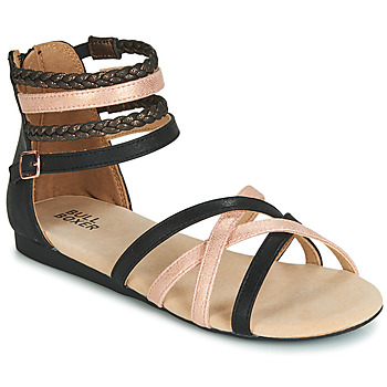 Sapatos Rapariga Sandálias Bullboxer AED009 Preto