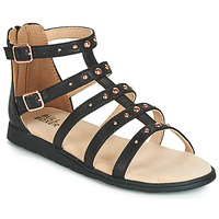 Sapatos Rapariga Sandálias Bullboxer AGG021 Preto