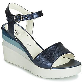 Sapatos Mulher Sandálias Stonefly ELY 7 LAMINATED LTH Azul