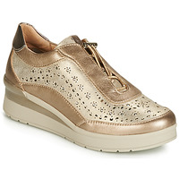 Sapatos Mulher Sapatilhas Stonefly CREAM 15 LAMINATED LTH Ouro