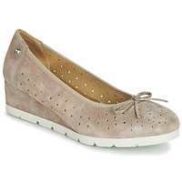 Sapatos Mulher Sabrinas Stonefly MILLY 2 GOAT SUEDE Bege
