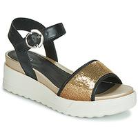 Sapatos Mulher Sandálias Stonefly PARKY 3 NAPPA/PAILETTES Preto