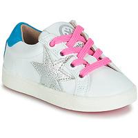 Sapatos Rapariga Sapatilhas Acebo's STARWAY Branco