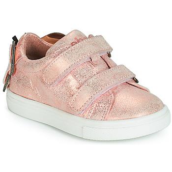 Sapatos Rapariga Sapatilhas Acebo's BAMBU Rosa