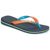 Sapatos Chinelos Havaianas BRASIL MIX Marinho / Laranja