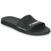 Sapatos Homem chinelos Havaianas SLIDE BRASIL Preto