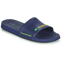 Sapatos chinelos Havaianas SLIDE BRASIL Azul