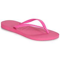 Sapatos Mulher Chinelos Havaianas SLIM Rosa