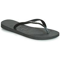 Sapatos Mulher Chinelos Havaianas SLIM VELVET Preto
