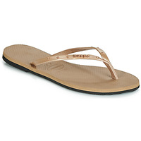 Sapatos Mulher Chinelos Havaianas YOU MAXI Rosa / Ouro