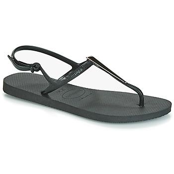 Sapatos Mulher Sandálias Havaianas FREEDOM MAXI Preto