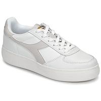 Sapatos Mulher Sapatilhas Diadora B ELITE WIDE Branco / Toupeira