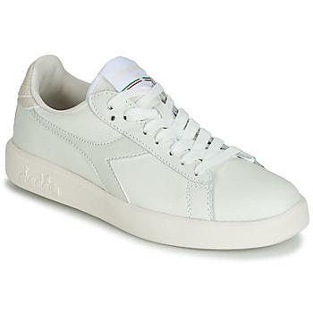 Sapatos Mulher Sapatilhas Diadora GAME WIDE Cru / Cinza