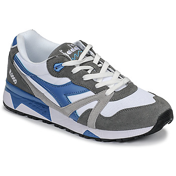 Sapatos Homem Sapatilhas Diadora N 9000 III Branco / Cinza / Turquesa