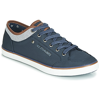 Sapatos Homem Sapatilhas Redskins GALETI Marinho / Conhaque